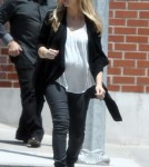 sarah Michelle Gellar heading out to get some lunch at Lemonade in Brentwood, California on May 9, 2012.