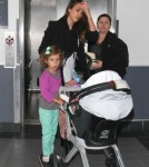 Jessica Alba Touches Down With Honor And Haven 0608