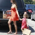 Alessandra Ambrosio Takes daughter Anja Mazur To Party 0611