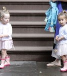 Sarah Jessica Parker's Girls, Marion and Tabitha, Shop The Day Away 0614