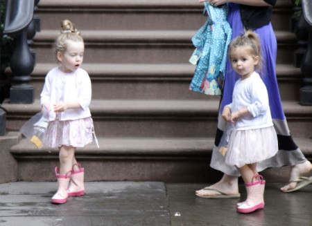 Sarah Jessica Parker's Girls, Marion and Tabitha, Shop The Day Away