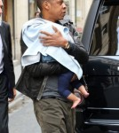 Beyonce And Jay-Z Take Blue Ivy To See The Paris Sights 0605