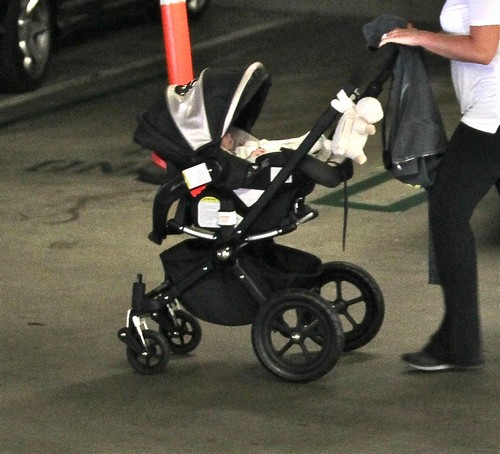 Hilary Duff and Mike Comrie Take Luca in for a Checkup