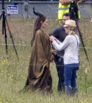 First Look At Angelina Jolie As Disney Villain Maleficent 0621