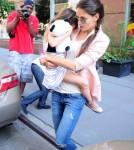 Katie Holmes Reunites With Suri Cruise In NYC 0615