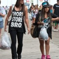 "Nicole ""Snooki"" Polizzi Films The Jersey Shore With Growing Baby Bump 0627"