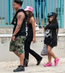 """Nicole """"Snooki"""" Polizzi Films The Jersey Shore With Growing Baby Bump 0627"""