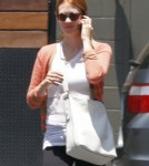 January Jones Debuts New Hair Color With Xander 0619
