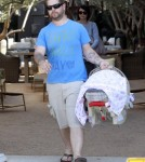 Jack Osbourne And Family Take Pearl For A Stroll 0604