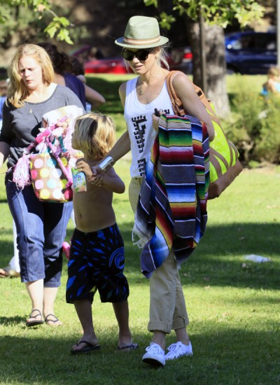 Another Day At The Park For Gwen Stefani And Her Boys
