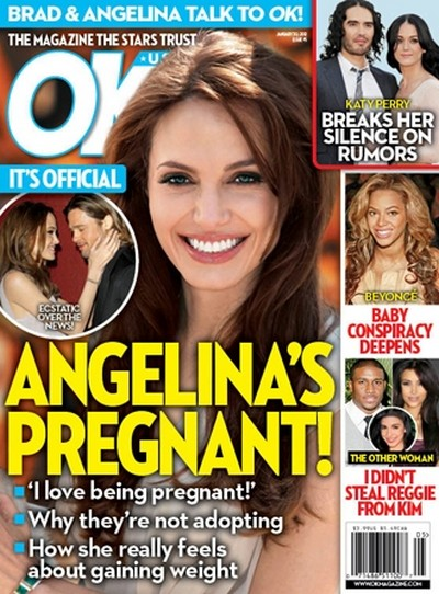 Angelina Jolie Is Pregnant! – It's Official!!!