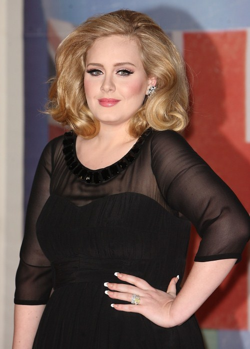 Adele at The 2012 BRIT Awards took place at The O2 in London, UK on February 21, 2012. P