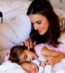 Alessandra Ambrosio Debuts Baby Son Noah on Facebook With Pampers