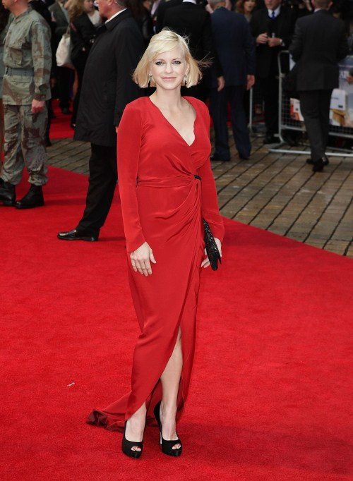 "Anna Faris at the ""The Dictator"" premiere at the Royal Festival Hall in London, England on May 10, 2012"