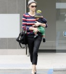 Charlize Theron Takes Jackson to thjee doctor's office in Beverly Hills, Ca - June 11