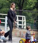 Gisele Bundchen and son Benjamin take a stroll in Boston, MA - June 9