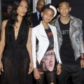 "Jada Pinkett Smith, Willow Smith and Jaden Smith at the New York premiere of ""Men In Black 3"" at the Ziegfeld Theater in New York City, New York on May 23, 2012."