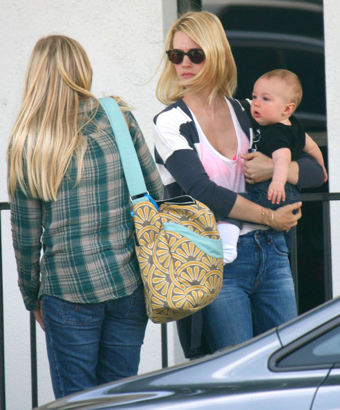 January Jones: Social Weekend With Xander