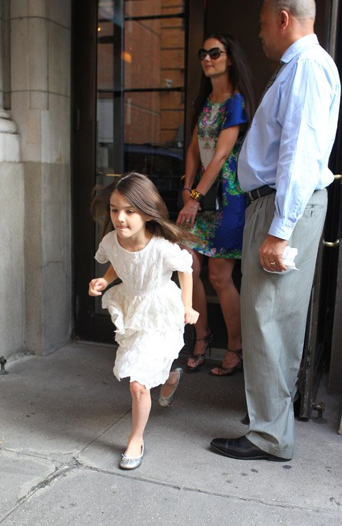 Katie Holmes and Suri Cruise in New York City - June 20