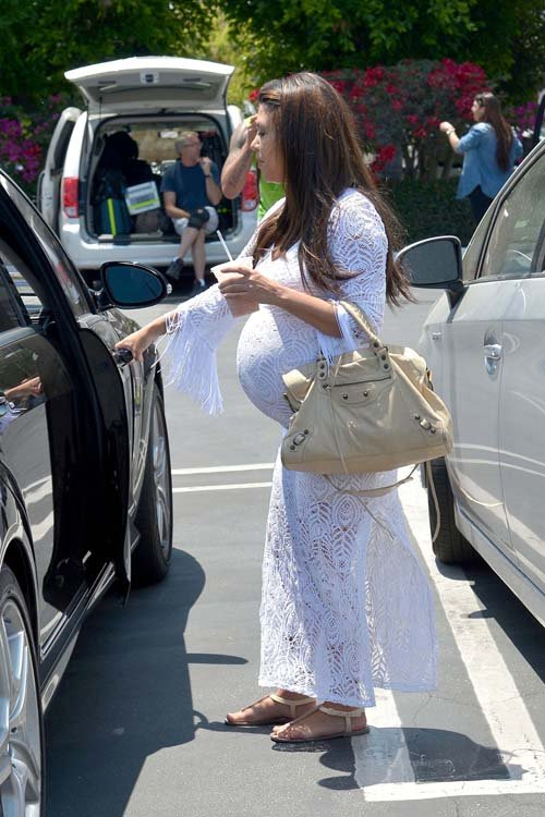 Kourtney Kardashian leaving Fred Segal in Los Angeles, CA - June 19