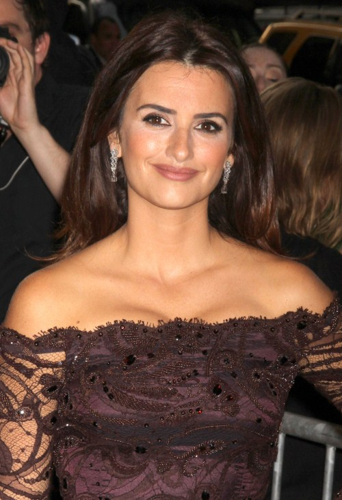 Penelope Cruz at a special screening of 'To Rome With Love' in New York City, New York on June 20, 2012.