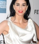Sarah Silverman at the Tribeca Film Festival screening of 'Take This Waltz' in New York City, New York on April 22, 2012.