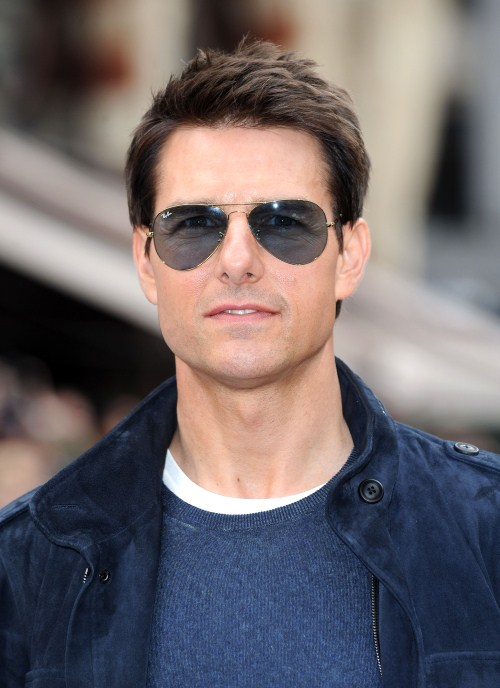 """Tom Cruise at the European Premiere of """"The Rock of Ages"""" at the Odeon Leicester Square in London, England on June 10th, 2012."""