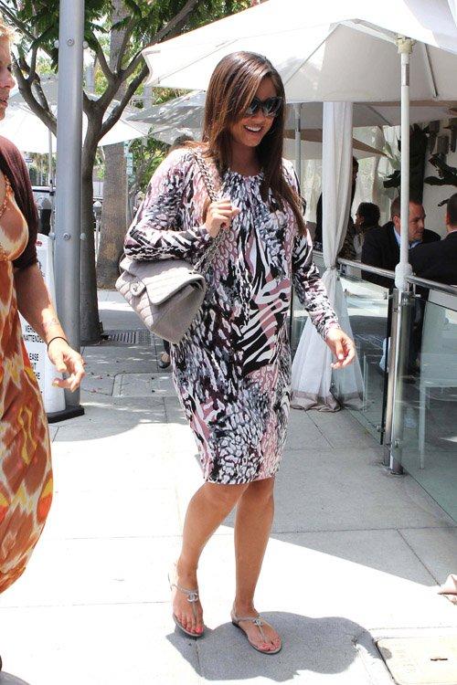 Vanessa Minnillo Lachey arriving at Villa Blanca in Beverly Hills, CA – June 13