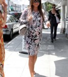Vanessa Minnillo Lachey arriving at Villa Blanca in Beverly Hills, CA - June 13