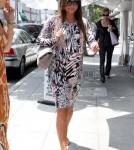Vanessa Minnillo Lachey arriving at Villa Blanca in Beverly Hills, CA - June 13