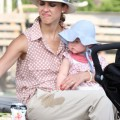 Jessica Alba Monkeys Around With Haven And Honor Warren At The Park 0727