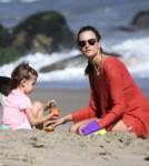 Alessandra Ambrosio and Anja Mazur Battle At The Beach 0707