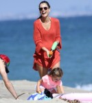 Alessandra Ambrosio and Anja Mazur Battle At The Beach 0707