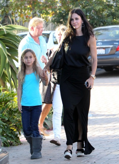 Courteney Cox Lunches With Daughter Coco Arquette in Malibu 0707
