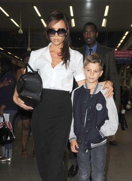 Victoria Beckham Lands In London Before Rumored Spice Girls Reunion