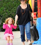 Alyson Hannigan And Satyana Denisof Shop For Toys! 0713