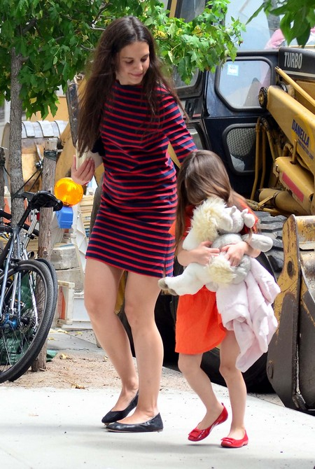 Katie Holmes and Suri Cruise's First Step Toward Normal