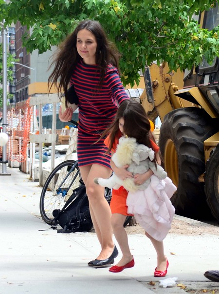 Katie Holmes Is Trying To Undo The Damage Done To Suri By Scientology