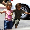 Report: Jennifer Lopez Lets Her Twins Run Wild and They Almost Get Electrocuted