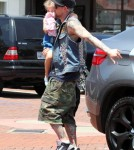 Harlow Madden Joins Joel Madden For A Sweet Treat To Beat The Heat 0731