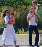 Matthew McConaughey and Camila Alves Spend A Quiet Day Along The Hudson With Their Kids 0723