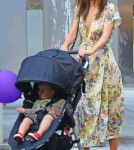 Miranda Kerr Shops With Son Amid Epidural Comment Uproar 712