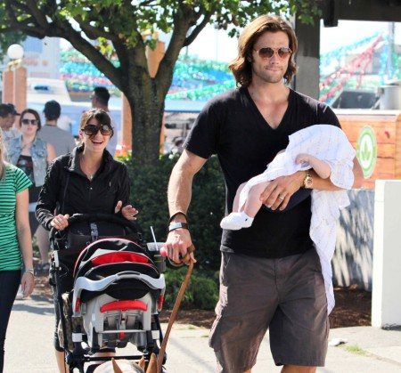 Jared Padalecki Spends Day At Food Truck Festival With Son, Thomas Padalecki 0730