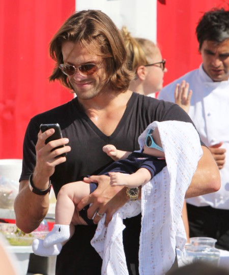 Jared Padalecki Spends Day At Food Truck Festival With Son, Thomas Padalecki 0730