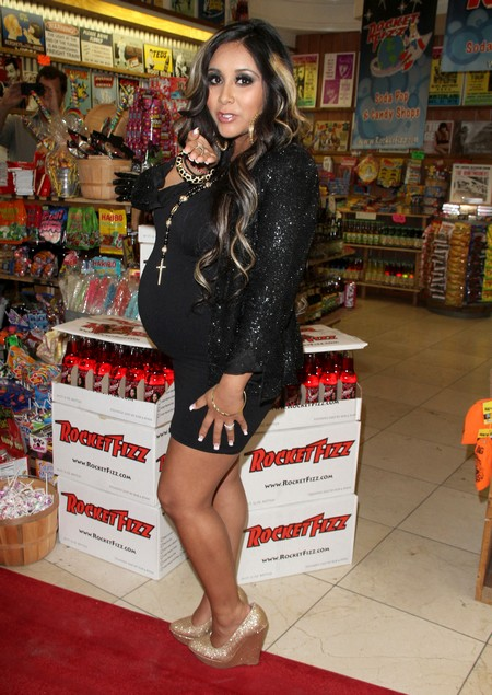 Pregnant Snooki The Responsable One With Her Jersey Shore Friends