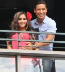 Snooki Shows Off Baby Bump On Extra! 0719
