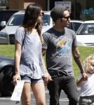 Pete Wentz And Meagan Camper Spend Family Day With Bronx Wentz 0718