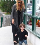 Rachel Zoe Takes Stylish Son Skyler Berman Shopping 0706