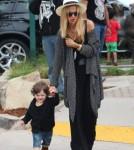 Rachel Zoe Takes Stylish Son Skyler Berman Shopping 0706