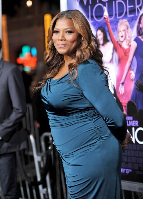 Queen latifah attends the premiere of Joyful Noise held at the Chinese Theater in Los Angeles, CA on January 9, 2012.
